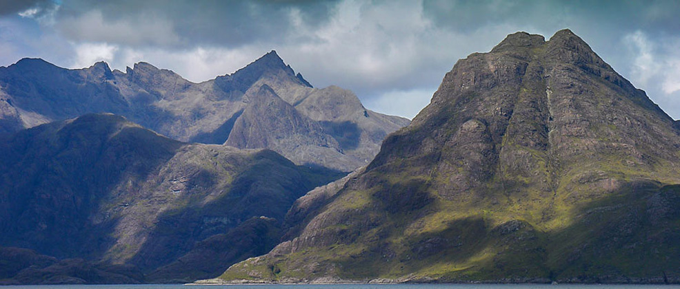The Cuillin mountains from Elgol