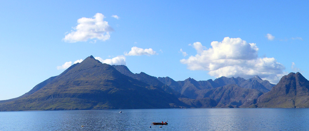 The Cuillin ridge from Elgol